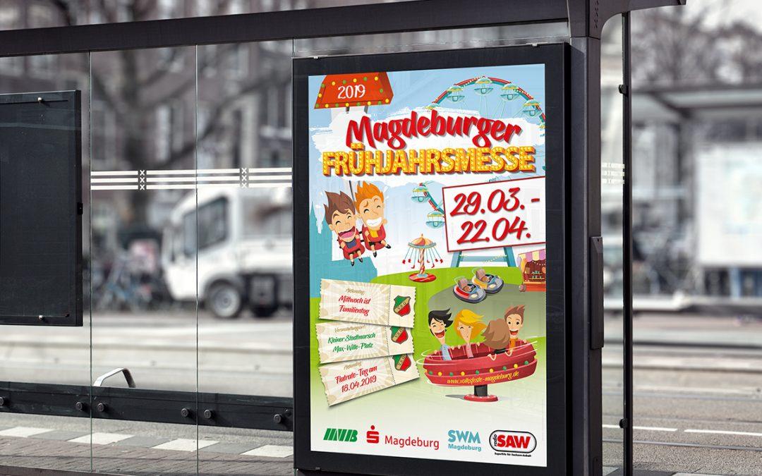 Plakatkampagne Frühjahrsmesse