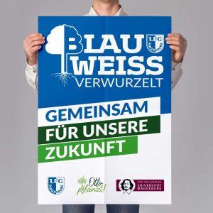 FCM Blau Weiß Verwurzelt